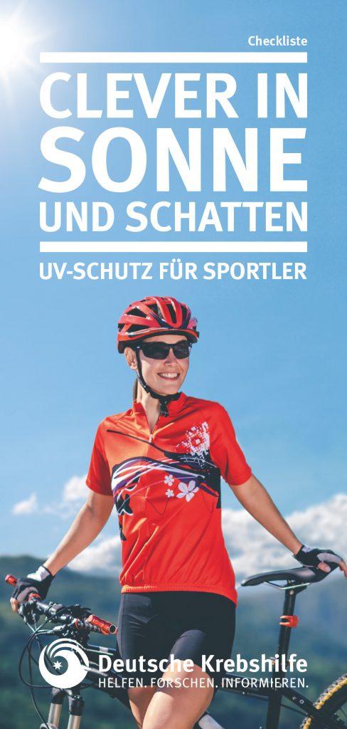 Clever in Sonne und Schatten - Checkliste für Sportler-innen