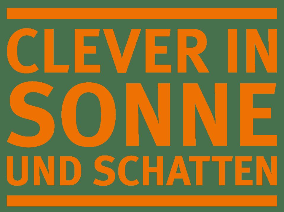 Logo CLEVER IN SONNE UND SCHATTEN