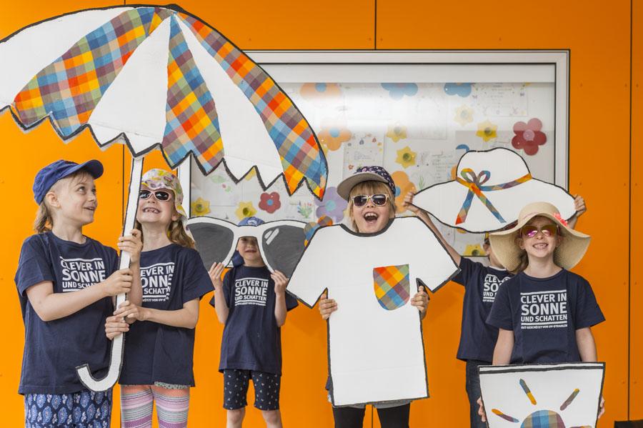 Clever in Sonne und Schatten für Grundschulen und Horte- was gehört zum Sonnenschutz