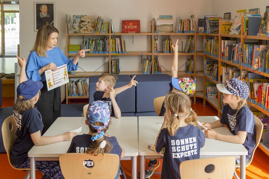 Clever in Sonne und Schatten für Grundschulen und Horte Auszeichnung GS Heinrich Schütz