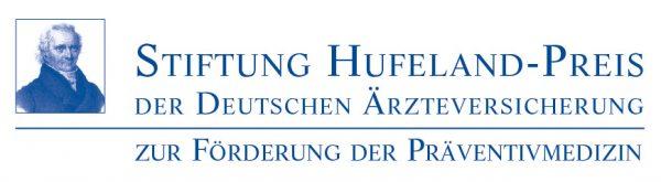 Logo Deutsche Ärzteversicherung Hufeland-Preis
