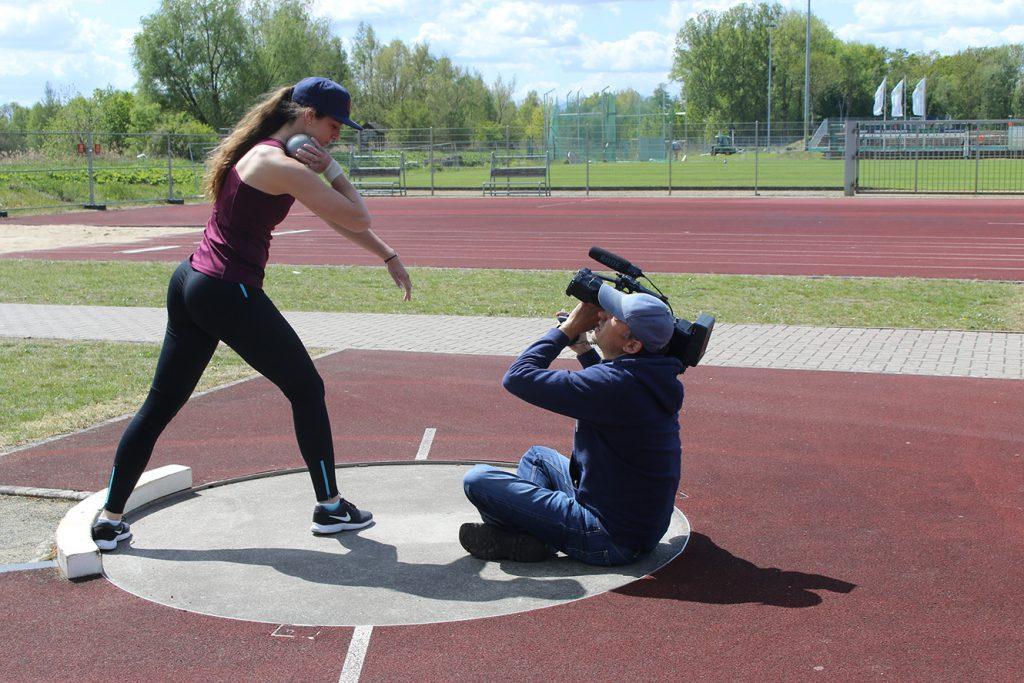 Clever in Sonne und Schatten für sportbetonte Schulen - Videodreh Neubrandenburg