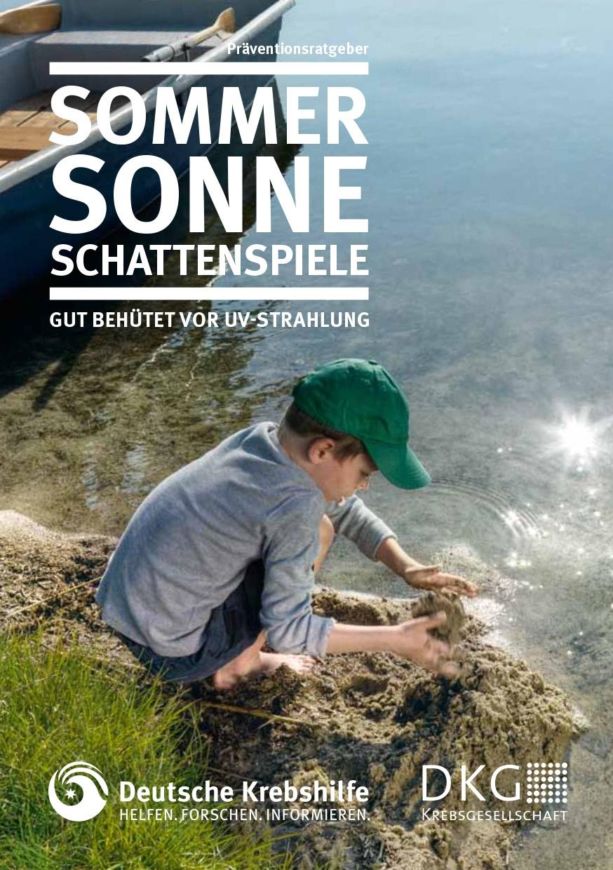 Clever in Sonne und Schatten - Broschüre für Eltern und Pädagog-innen