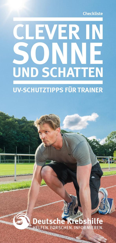 Clever in Sonne und Schatten - Checkliste für Trainer-innen