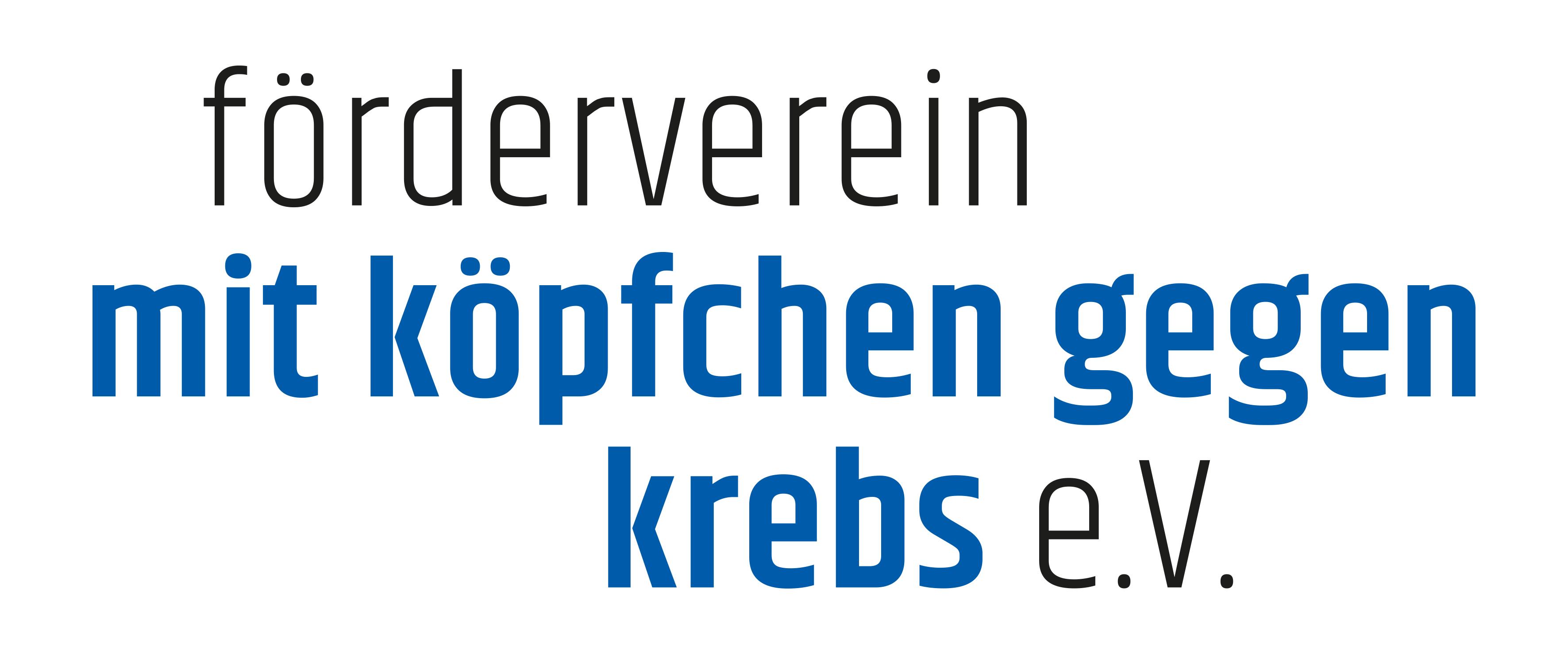 Logo Förderverein Mit Köpfchen gegen Krebs e. V.