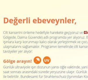 Elterninformationen SonnenschutzClown (Türkisch) Image