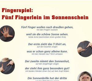 Sonnenschutz-Fingerspiel Image